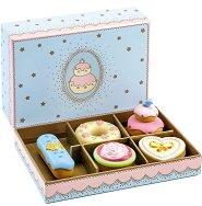 Сладкишите на принцесата - Дървен комплект за игра от 5 части -