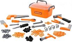 Кутия със строителни инструменти - Детски комплект за игра - играчка
