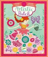 """Направи сама картини с фолио - Fair maidens - Творчески комплект от серията """"Artistic Patch"""" -"""