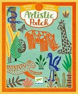 """Направи сам картини с фолио - Wilderness - Творчески комплект от серията """"Artistic Patch"""" -"""