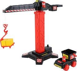 Кран и камион - Мамоет - Детски комплект за игра -