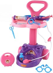 Докторска количка - Детски комплект за игра -
