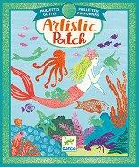 """Направи сам картини с фолио - Ocean - Творчески комплект от серията """"Artistic Patch"""" - играчка"""
