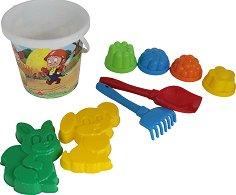 Плажен комплект - Детски комплект за игра с пясък -