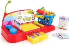Касов апарат - Мини маркет - Детски комплект за игра -