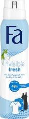 Fa Invisible Fresh 48H Anti-Perspirant Deodorant - Дамски дезодорант против изпотяване с аромат на момина сълза -