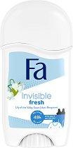 Fa Invisible Fresh 48H Anti-Perspirant Stick - Дамски стик дезодорант против изпотяване с аромат на момина сълза -