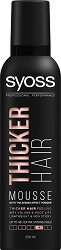 Syoss Thicker Hair Mousse -
