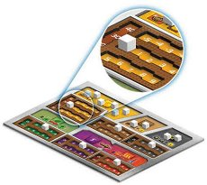 """Двуслойни 3D табла - Комплект от 5 броя за """"Тераформирай Марс"""" - играчка"""