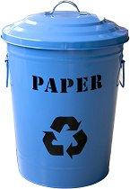 Среден кош за разделно събиране на отпадъци - Paper