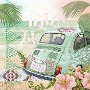 Салфетки за декупаж - Ибиза - Пакет от 20 броя