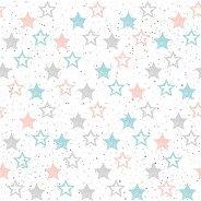 Салфетки за декупаж - Звезди - Пакет от 20 броя