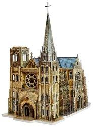 Готическа катедрала - Картонен 3D модел за сглобяване -