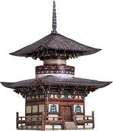 Пагода Хонпо-дзи - Картонен 3D модел за сглобяване -