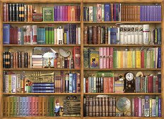 Библиотека - Барбара Бер (Barbara Behr) - пъзел