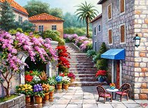 Магазин за цветя - пъзел