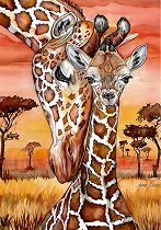 Жирафи - Лин Бийн (Lynn Bean) - пъзел