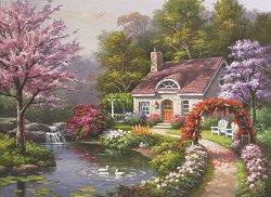 Пролетна гледка - Сонг Ким (Sung Kim) - пъзел