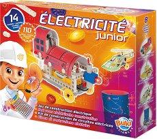 """Млад електротехник - Образователен комплект от серията """"Експерименти"""" - играчка"""