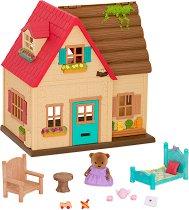 """Вила - Sunny Acres - Къщички и аксесоари от серията """"Lil Woodzeez"""" - играчка"""