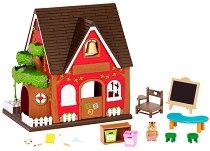 """Училище - Къщички и аксесоари от серията """"Lil Woodzeez"""" - играчка"""