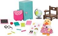 """Класна стая - Къщички и аксесоари от серията """"Lil Woodzeez"""" - играчка"""