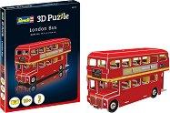 Лондонски автобус - 3D пъзел -