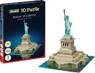 Статуята на свободата - 3D пъзел - пъзел