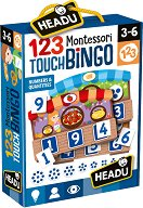 """Бинго - Образователна игра от серията """"Headu: Методът Монтесори"""" - пъзел"""