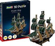 Пиратски кораб - 3D пъзел - пъзел