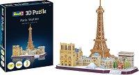 Забележителности в Париж - 3D пъзел -
