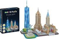 Забележителности в Ню Йорк - 3D пъзел -