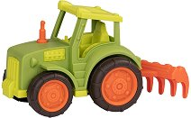 """Трактор с гребло - Детска играчка от серията """"Wonder Wheels"""" -"""