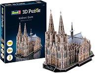 Кьолнската катедрала Свети Петър и Света Мария - 3D пъзел -