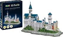 Замъкът Нойшванщайн - 3D пъзел -