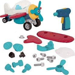 """Самолетче - Детска сглобяема играчка от серията """"Wonder Wheels"""" -"""