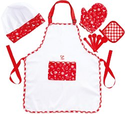 Детска готварска униформа - творчески комплект
