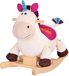 """Люлеещ се еднорог - Детска дървена играчка от серията """"B Toys"""" - играчка"""