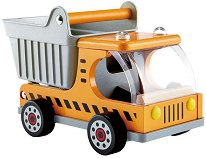 Самосвал - Детска дървена играчка -