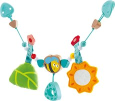 Пчеличка - Дрънкалка за детска количка или легло -