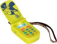 """Телефон със звукови и светлинни ефекти - Детска интерактивна играчка от серията """"B Toys"""" -"""