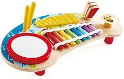 Сам съм си музикант - Детска дървена музикална играчка -