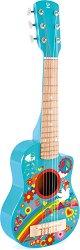 Разноцветна акустична китара - играчка