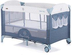 Сгъваемо бебешко легло на две нива - Merida 2020 - шише