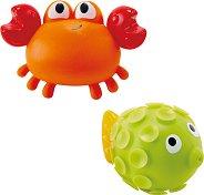 Рак и риба - Играчки за баня -