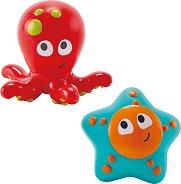 Октопод и морска звезда - Играчки за баня -