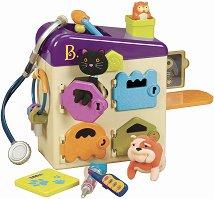 """Ветеринарна клиника - Детски комплект от серията """"B Toys"""" -"""