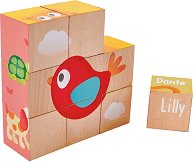 Дървени кубчета - Приятелство - Образователна играчка -