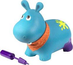 """Надуваем хипопотам - Хоп - Хоп играчка за подскачане от серията """"B Toys"""" -"""