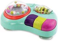 """Пиано с дрънкалка - Детска играчка със светлинни и звукови ефекти от серията """"B Toys"""" -"""